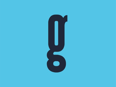 36 Day of Type - G 36daysoftype design handcrafted type slab serif font g letter slab serif typeface font typography