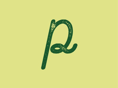 36 Days of Type - P script font 36daysoftype type typeface font typography handcrafted vintage retro