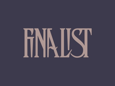 Finalist - New Ligatures Font (WIP) vintage modern logo type display typeface font typography handcrafted