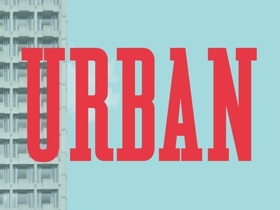 Urban Serif Font serif serif font brutalist display typeface font typography handcrafted retro