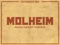 Molheim Typeface