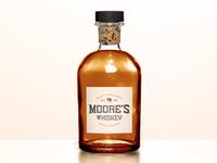 Whiskey Logo Label