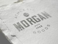 Morgan Athletic Goods - Logo Template