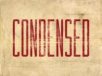 Condensed Sans