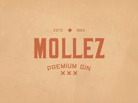 Mollez Gin Logotype