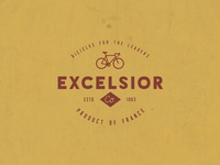 Excelsior Bicycle - Retro Logo