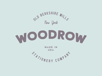 Woodrow - Vintage Logo