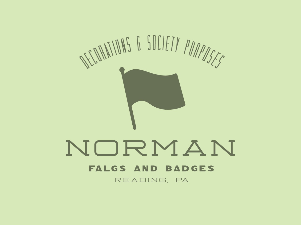 Norman Flags and Badges icon flag serif logotype display font type americana simple design badge typeface label branding display font typography handcrafted logo vintage retro