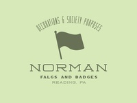 Norman Flags and Badges