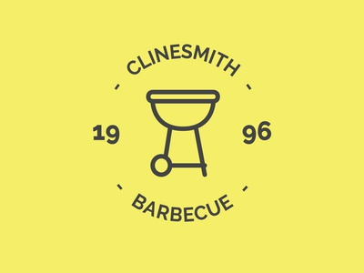 Barbecue Grill Logo brand restaurant minimalist barbecue grill vector flat web app icon illustration simple design badge label branding display handcrafted logo