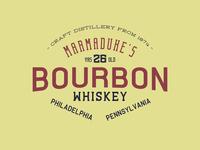 Marmadukes Bourbon