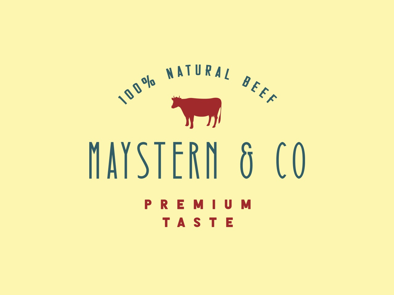Maystern & Co. simple font type ranch cattle logotype americana display font icon brand badge design typeface branding display typography handcrafted logo vintage retro