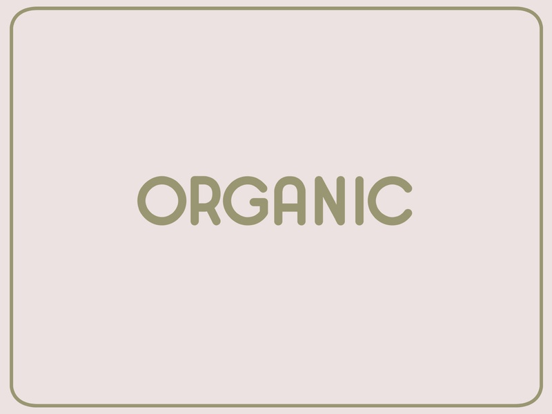 Organic type simple design display handcrafted typeface font typography vintage retro