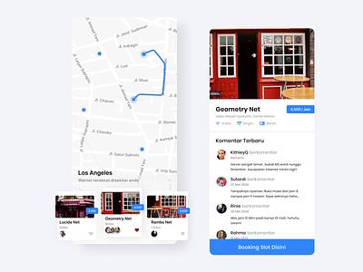 Maps Exploration uxdesign uidesign mobile apps design android ios design minimalist ux clean uxui ui maps map app