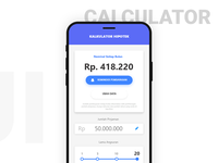 Daily UI Challenge #004 - Mortgage Calculator oncept