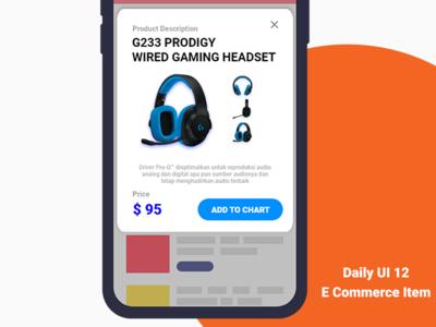 Daily UI 012 - Product Description