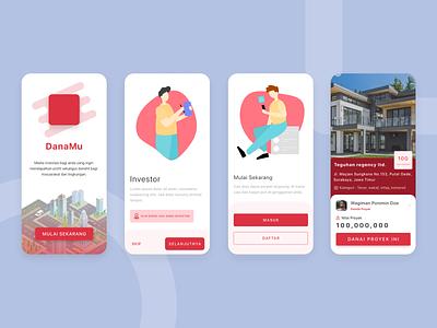 Danamu - Apps UI Design ux app design design mobile design ui daily ui