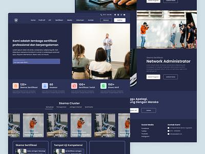 Pangudi Luhur - Landing Page UI education website app design design ux ui website landing page mockup daily ui