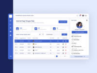 Health Management Dashboard UI