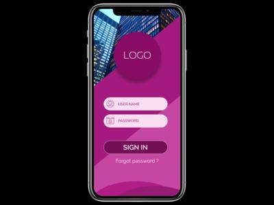 Login User Interface