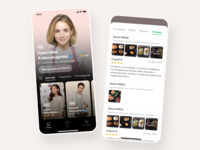 Food Delivery App Design ux ui testimonials store startup reviews recommended cuberto profile online shop mvp mobile food design delivery chief category app