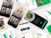 Food Delivery App Design ux subscription chat store reviews recommended profile shop online mobile personal delivery food category chiefs react native product mvp app
