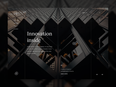 Shared Offices shared office ui landing typography webdesign website web design simple