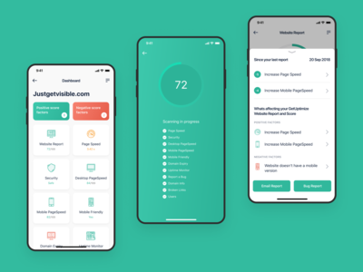 Get Uptimize Dashboard / UI Kit Free