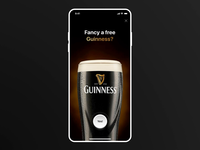 Guinness Beer Promotion Screens