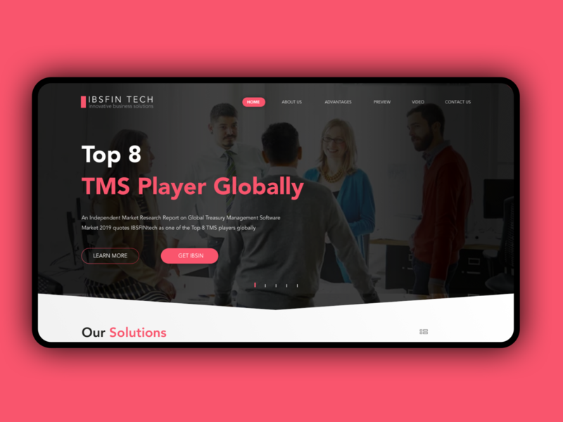 IB branding agency asian typography ui corporate web website application design ux