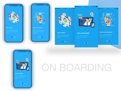 Onboard onboarding screen illustration sketch graphic design adobe xd