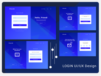 Login Page figma sketch