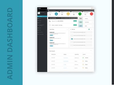 Admin-dashboard admin template admin dashboard design adobe xd sketch figma