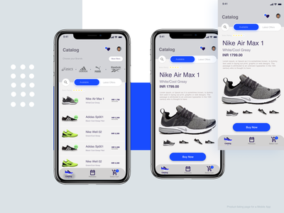 Product Listing Page figma illustration sketch adobe xd