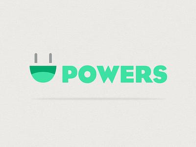 Powers illustration saturday school non-profit brand identity logo powers saturday school