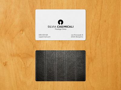 Psychology Studio logo business card chair identity illustrator psychology logo