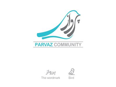 Parvaz Community logo mark logotype logo