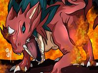 Lavaflow Dragon