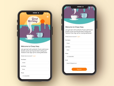 001 - Sign Up Page Design
