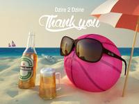 Thank you, Dzire 2 dzine