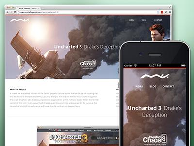 Portfolio Update case study portfolio responsive clean mobile