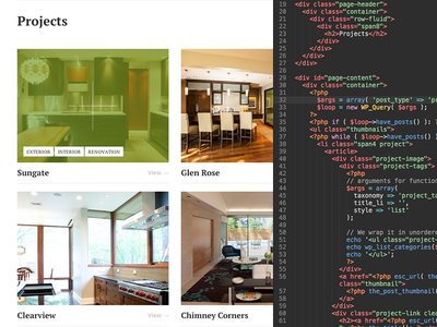 Projects projects gallery thumbnails code wordpress home construction architecture