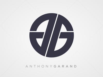 Anthony Garand Logo logo clean symmetrical monogram