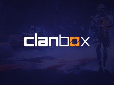 Clanbox Logo logo custom font gaming clansite clan