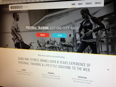 Guru Miki Fitness Homepage fitness health gym personal training
