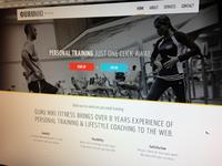 Guru Miki Fitness Homepage