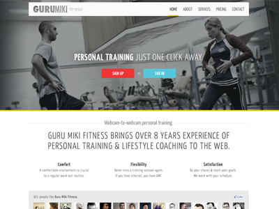 GMF Homepage Details fitness health gym personal training full shot