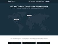 Web Hosting Page