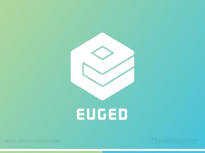 Euged Logo logo branding develosigner