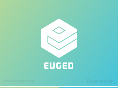 Euged Logo logo branding develosigner